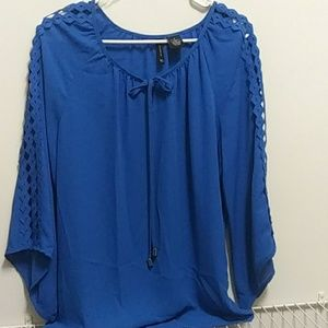 Womens medium new with tags blue new directions